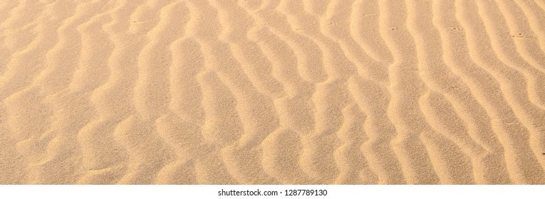Sand waves texture and pattern