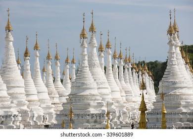 Sanda Muni pagoda detail in Mandalay, Myanmar
