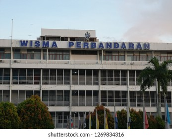SANDAKAN, SABAH - DECEMBER 29, 2018 : Sandakan Municipal Council is the municipal council which administrates the town and municipalities area of Sandakan in the state of Sabah, Malaysia.