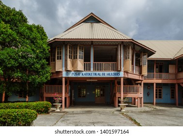 Sandakan, Sabah, Malaysia - March 17 2016: the Father Mulders centre of the Roman Catholic Centre St. Mary Sandakan