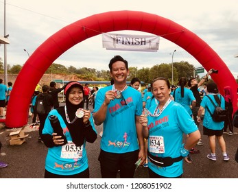 Sandakan Sabah, - October 21, 2018 : Run for Society for the Prevention of Cruelty to Animals, Sandakan. This Run to promote the humane treatment of and maintain the quality of life for all animals.