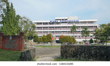 SANDAKAN, SABAH - SEPTEMBER 16, 2018 : Sandakan Municipal Council is the municipal council which administrates the town and municipalities area of Sandakan in the state of Sabah, Malaysia.