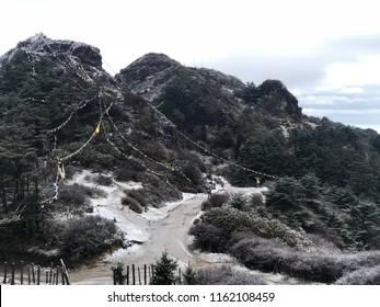 Sandakphu Peak During Early Winter