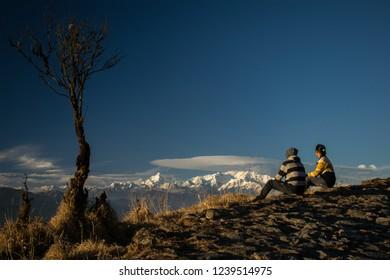 Sandakphu, Trek in Sandakphu with Kanchenjunga. Tonglu Sandakphu Trekking