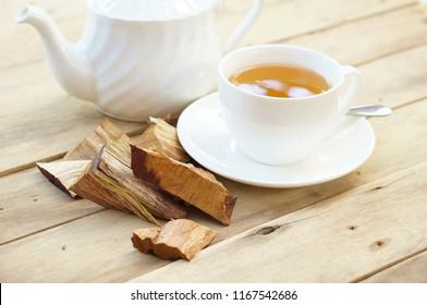 Sandalwood tea with Sandalwood