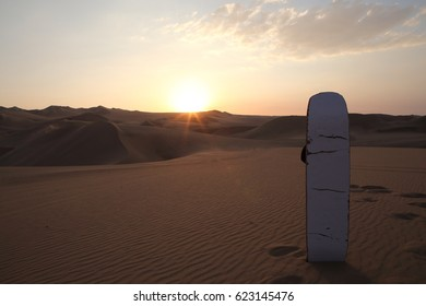 Sandboarding in Ica Desert from Huacachina