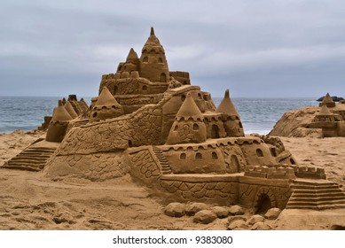 Sandcastle at Vina Del Mar, Chile