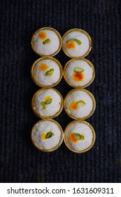 Sandesh. It is a delicious Bengali sweet, popular all over India and abroad. Traditionally sandesh is made by curdling milk and draining all the whey to collect the chenna.