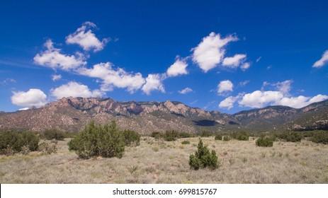 Sandia Mountain Pino Trail at Elena Gallegos Open Space