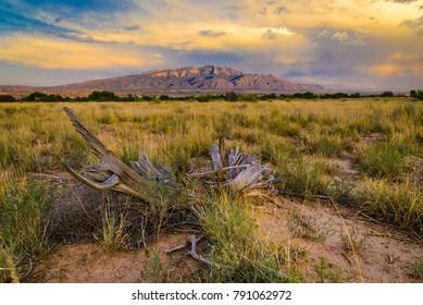 Sandia Mountains in Arizona