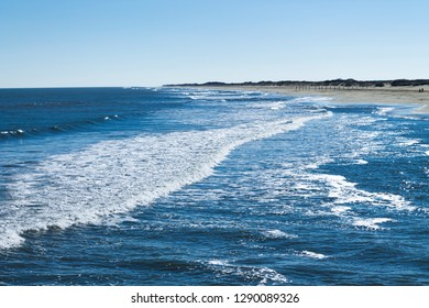 Sandpiper Beach in Sandbridge, a coastal community in Virginia Beach, Virginia.