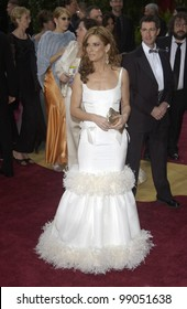 SANDRA BULLOCK at the 76th Annual Academy Awards in Hollywood. February 29, 2004