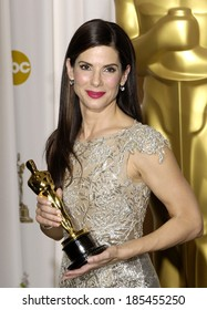Sandra Bullock, Best Performance by an Actress in a Leading Role for The Blind Side, 82nd Annual Academy Awards Oscars Ceremony-PRESS ROOM, The Kodak Theatre, Los Angeles March 7, 2010