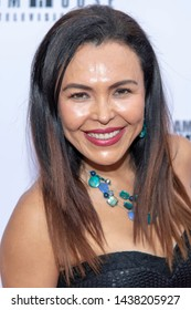 Sandra Santiago attends 2019 Etheria Film Night at The Egyptian Theatre, Hollywood, CA on June 29, 2019
