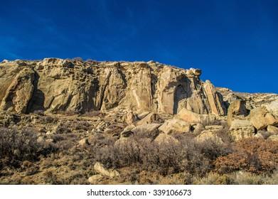 Sandrocks in Northwestern Colorado