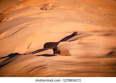 Sands of Wadi Rum desert. Jordan.