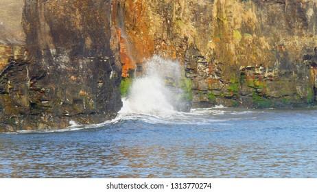 Sandsend Cliffs - power in calm waters