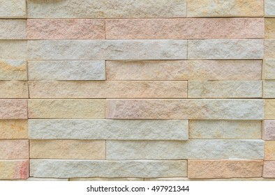 Sandstone block walls