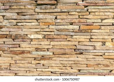 Sandstone brick stone wall texture background
