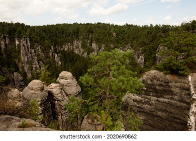 Sandstone in Europa, beautiful sommer Nature in Germany - Shutterstock ID 2020690862