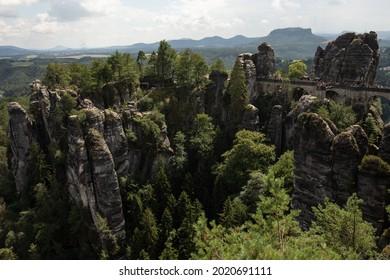 Sandstone in Europa, beautiful sommer Nature in Germany - Shutterstock ID 2020691111