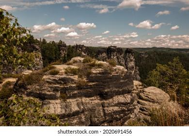 Sandstone in Europa, beautiful sommer Nature in Germany - Shutterstock ID 2020691456