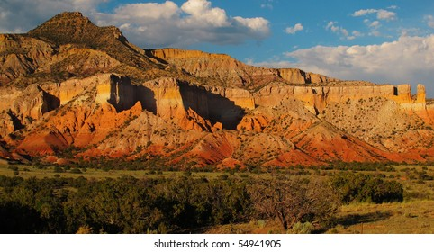 Sandstone Formation at Ghost Ranch, Abiquiu, New Mexico