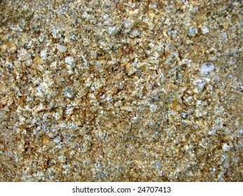 Sandstone with Quartz crystal background