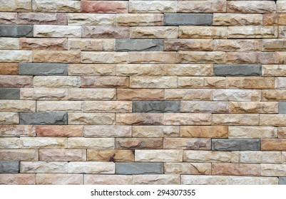 Sandstone tile wall texture