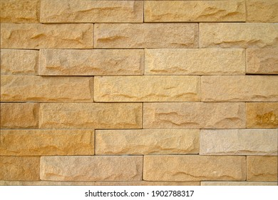 Sandstone wall background or texture