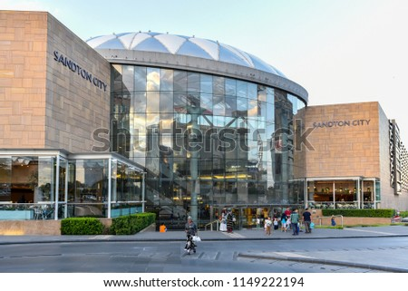 31ee1320d72 Sandton City is a shopping mall situated in Sandton, Johannesburg, South  Africa, 17th