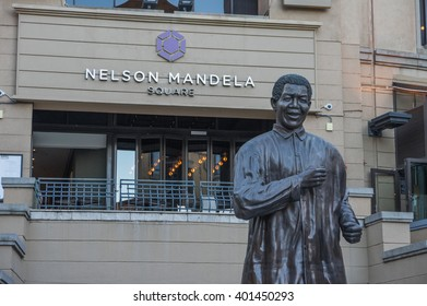 Sandton Johannesburg 29 March 2016 The Nelson Mandela Square is a public space and shopping area