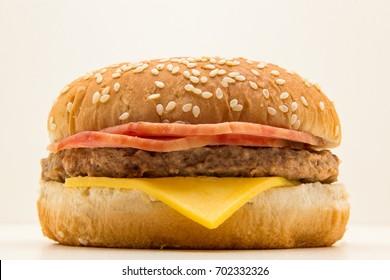 Sanduiche XBacon de Hamburger