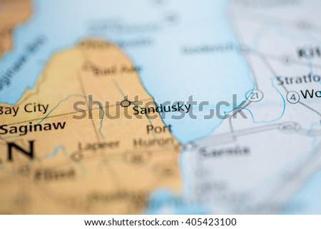 Sandusky Michigan Usa Stock Photo Edit Now 405423100 Shutterstock