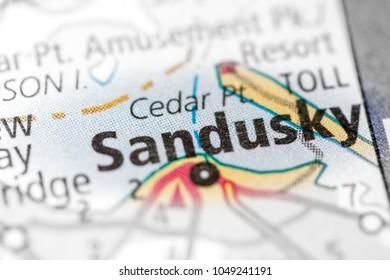 Sandusky. Ohio. USA