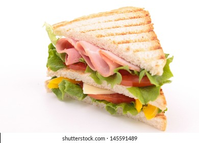 sandwich isolated