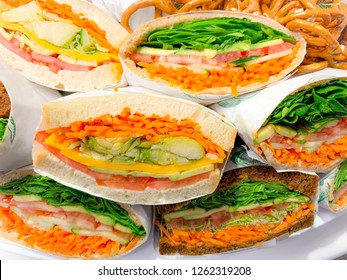 Sandwiches are dancing and there is nothing you c and do about it.