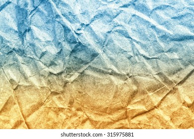 Sandy beach and blue sea vintage paper texture. Abstract Summer background.