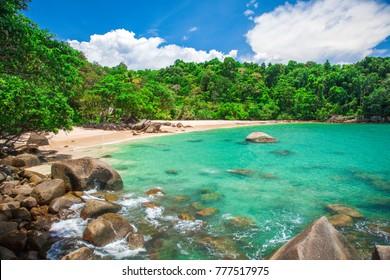 Sandy beach, Khao Lak, Thailand - Shutterstock ID 777517975