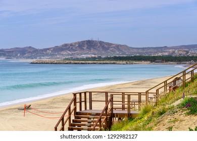 Sandy beach in Los Cabos, Mexico