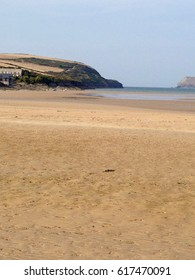 Sandy Beach in Padstow, Cornwall, Great Britain