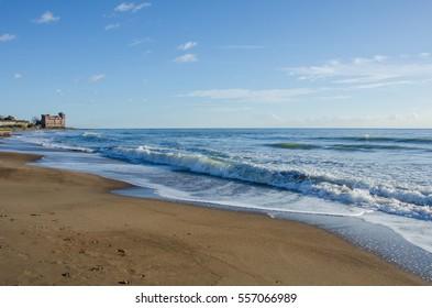 Santa Severa Beach Images Stock Photos Vectors Shutterstock
