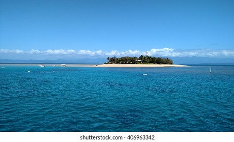 Sandy Cay in the Low Isles off Port Douglas, the Great Barrier Reef, Australia