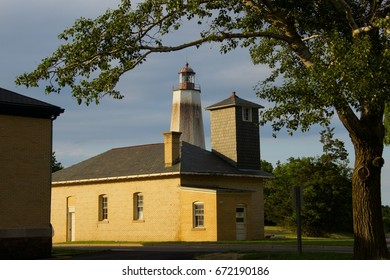 The Sandy Hook Light, Fort Hancock, New Jersey - Shutterstock ID 672190186