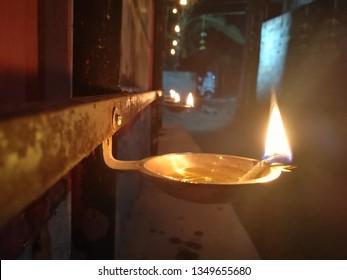 Sandya Deepam. Removing darkness