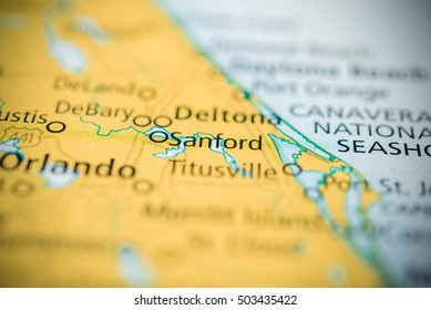 Sanford Florida Map.San Ignacio Mexico On Map Stock Photo Edit Now 1033041316