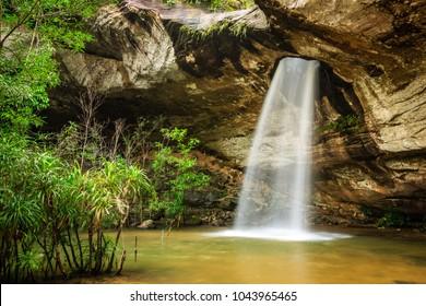 Sang Chan Waterfall (Moonlight Waterfall)  - Ubon Ratchathani, Thailand