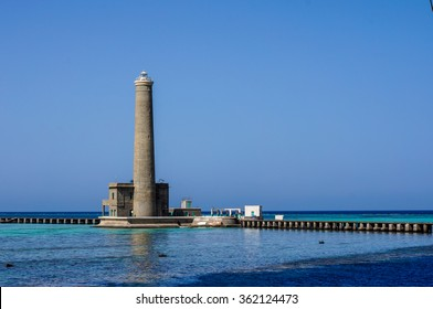 Sanganeb Lighthouse in the Red Sea, Sudan
