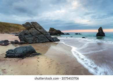 Sango Bay beach at Durness on the north coast of Scotland and part of the North Coast 500 tourist route