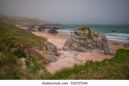 Sango Bay Durness beach. Sutherland, Highlands of Scotland